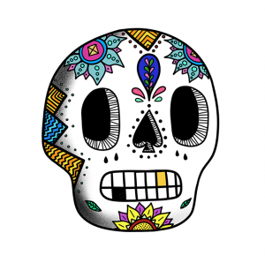 Casa De Print Sugar Skull